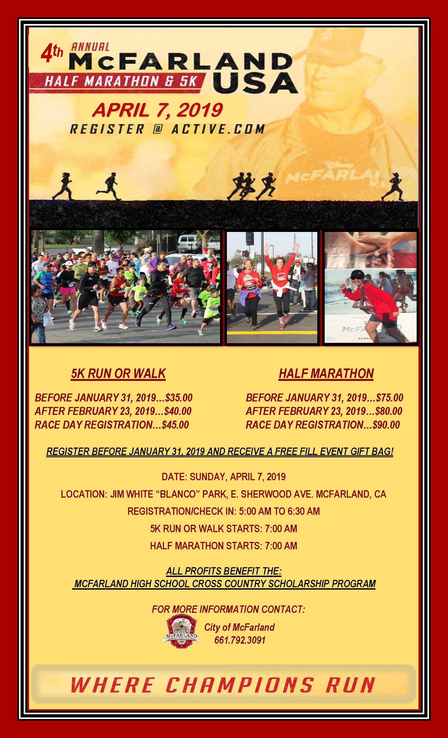 4th Annual Marathon Poster