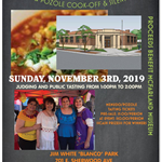 3rd Menudo Pozole Cook-off Flyer