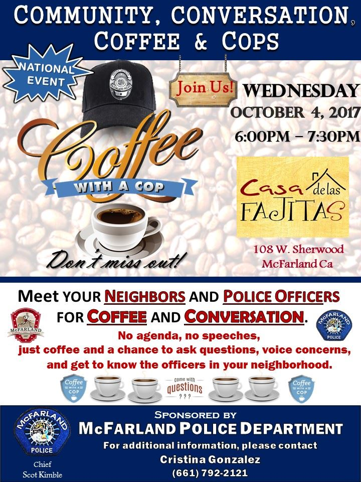 10_4_2017 - 2nd National Coffee with a Cop