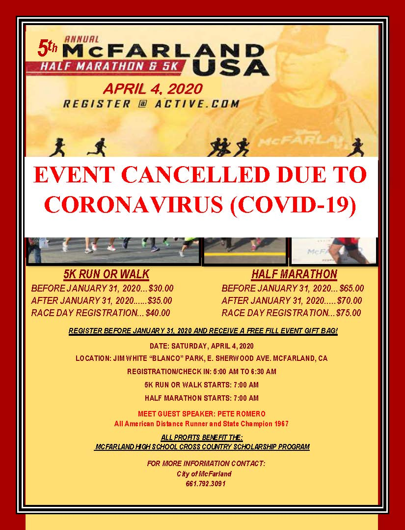 5th Annual Marathon Poster Letter Sizedocx CANCELLATION